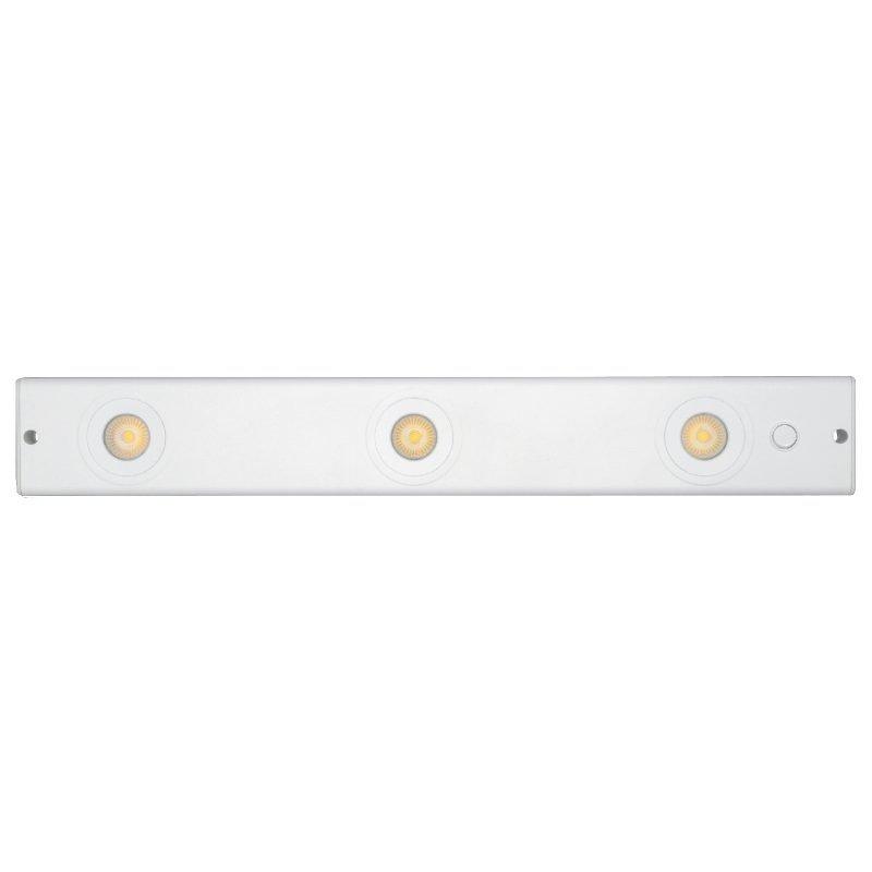 LED-lista Cabinett LED IP21 14W 889lm 3000K 546x80x26 mm valkoinen