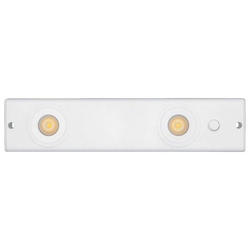 LED-lista Cabinett LED IP21 9W 592lm 3000K 356x80x26 mm valkoinen