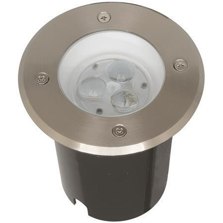LED-maavalaisin Ground II 0.35W 19lm 3200K 12V IP67 Ø 65x60 mm RST
