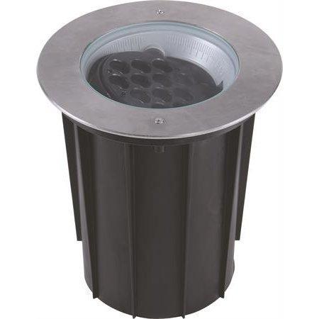LED-maavalaisin Norrby 40° 30W 922lm 3000K IP67 Ø 260x279 mm RST kallistettava/kauko-ohjattava