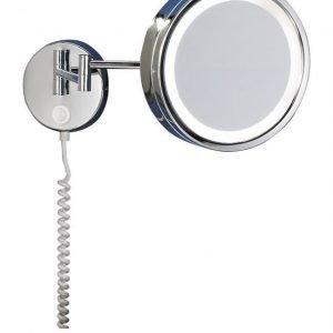 LED-meikkipeili H2O Ø 215x450 mm kromi