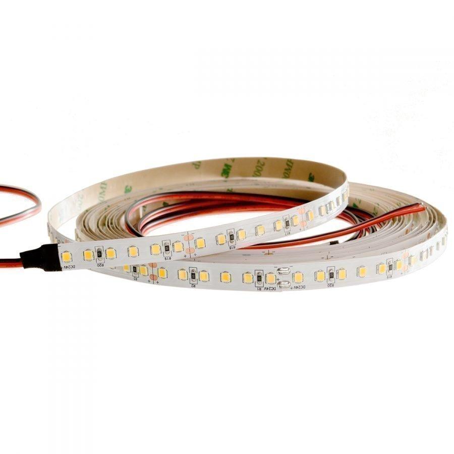 LED nauha HIGH END 24V 9W/m IP20 3000K CRI >90