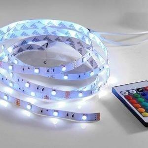 LED nauha LeuchtenDirekt Teania 12W 230V RGB 240lm IP20 valkoinen
