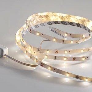LED nauha LeuchtenDirekt Teania 5W 230V 3000K 240lm IP20 valkoinen