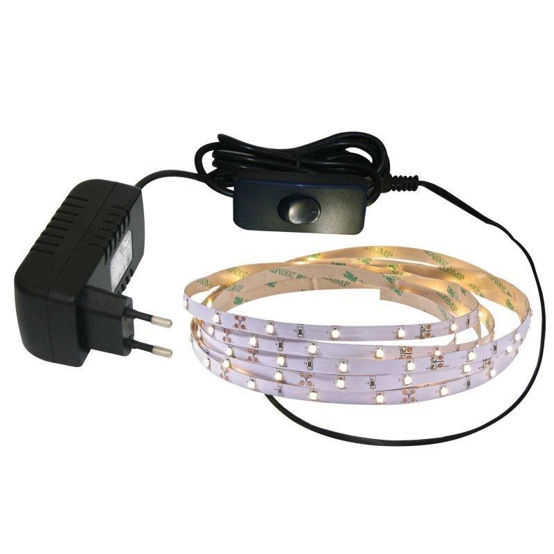 LED-nauha Nordlux 2x8x4000 mm 3000K 550lm + muuntaja
