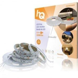 LED-nauha helppo kiinnitys himmennettävä sisä- tai ulkokäyttöön 3200lm 5 00m
