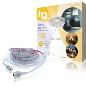 LED-nauha helppo kiinnitys lämmin valkoinen sisä- tai ulkokäyttöön 1400lm 5 00m