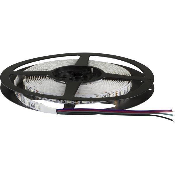 LED-nauha punainen/vihreä/sini ilm. liitintä 12V DC IP33 5m