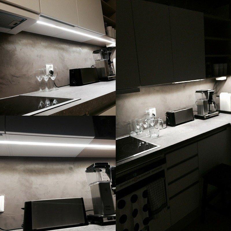 LED nauha työtasopaketti 5metriä himmennettävä IP65