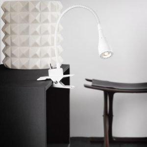 LED-nipistinvalaisin Mento Ø 35x300 mm valkoinen