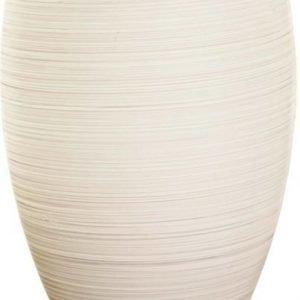 LED-pöytävalaisin Batista 3 Ø 120x225 mm valkoinen/harjattu teräs