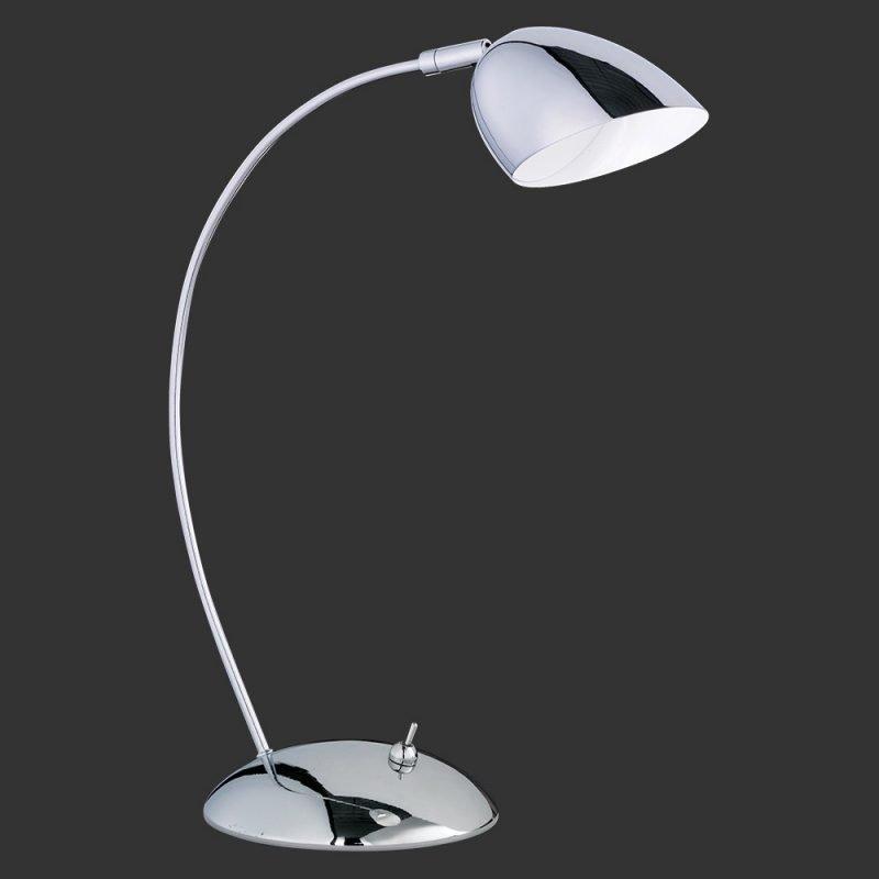 LED-pöytävalaisin Colori Ø 125x350 mm kromi