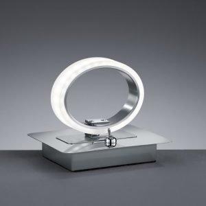 LED-pöytävalaisin Corland 140x110x120 mm kromi