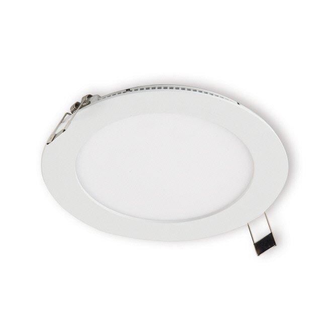 LED-paneeli Interno 11W 4000K IP44 Ø 180 mm uppo valkoinen himmennettävä