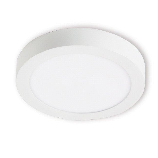 LED-paneeli Interno 15W 3000K IP20 Ø 240 mm pinta valkoinen himmennettävä