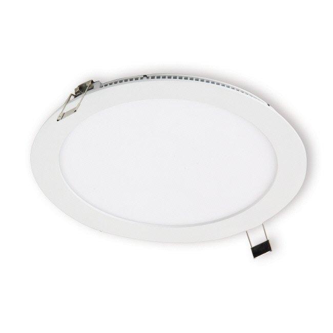 LED-paneeli Interno 15W 3000K IP44 Ø 240 mm uppo valkoinen himmennettävä