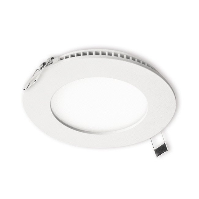 LED-paneeli Interno 8W 3000K IP44 Ø 117 mm uppo valkoinen himmennettävä