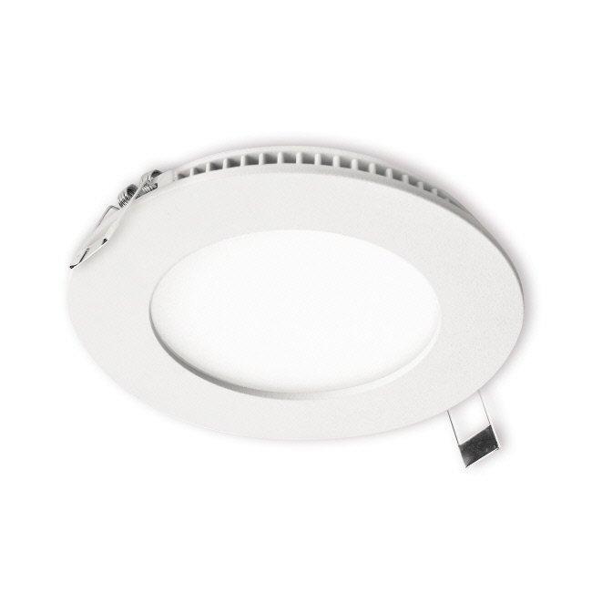 LED-paneeli Interno 8W 4000K IP44 Ø 117 mm uppo valkoinen himmennettävä