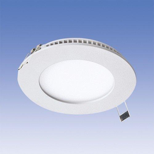 LED-paneeli Velox ALSD117PU IP44 8W/840 LED VA Ø 117 mm valkoinen