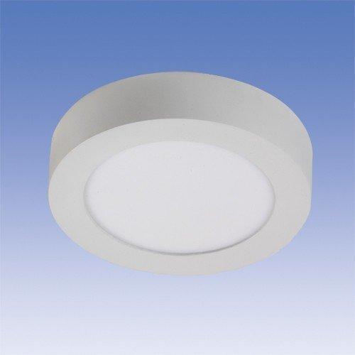 LED-paneeli Velox ALSD180PP IP20 11W/840 LED VA Ø 180x39 mm valkoinen