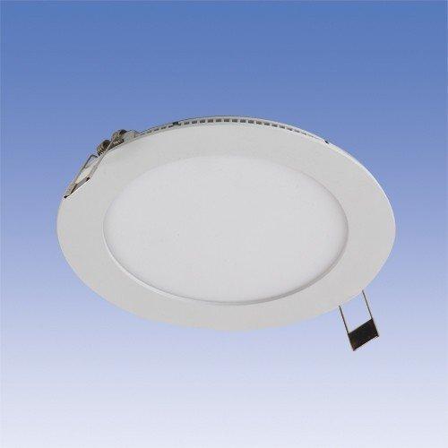 LED-paneeli Velox ALSD180PU IP44 11W/840 LED VA Ø 180 mm valkoinen