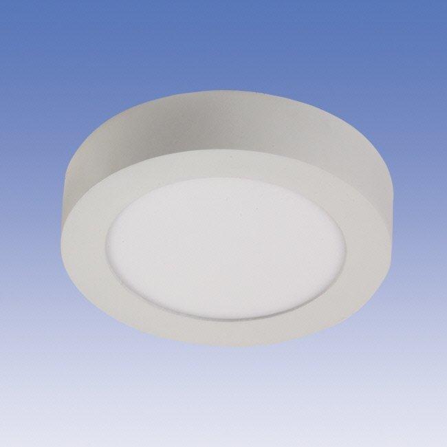 LED-paneeli Velox ALSD240PP IP20 15W/840 LED VA Ø 240x39 mm valkoinen