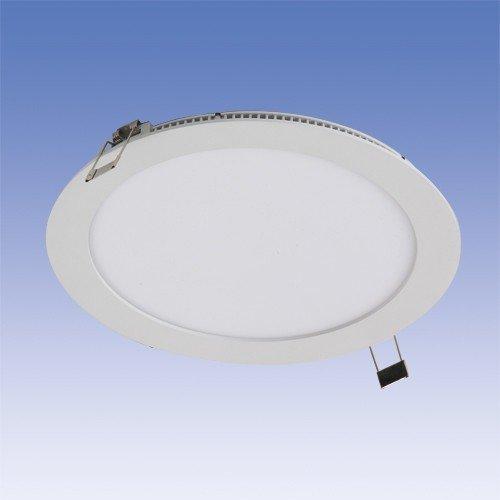 LED-paneeli Velox ALSD240PU IP44 15W/840 LED VA Ø 240 mm valkoinen