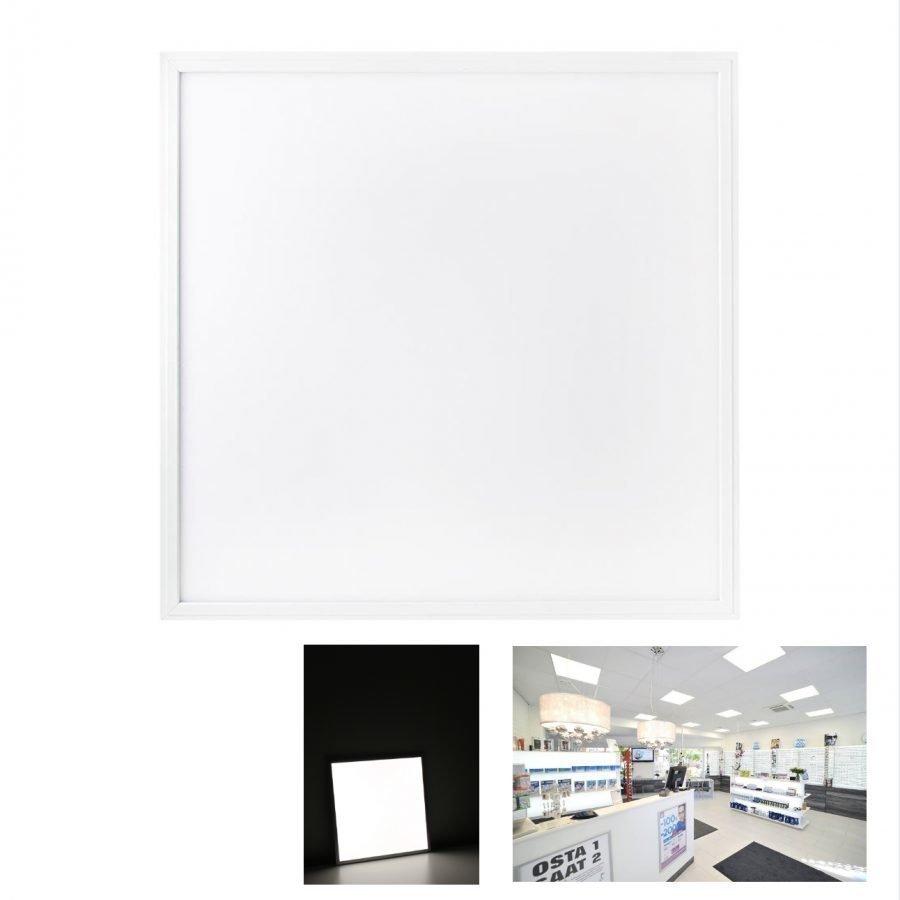 LED paneelivalaisin WHITE FRAME 38W 3700lm 4000K 600x600