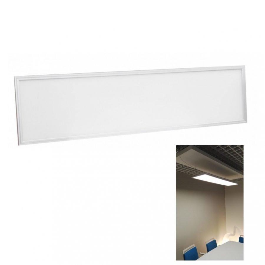 LED paneelivalaisin eduPoWER WHITE 38W 3700lm 300x1200mm