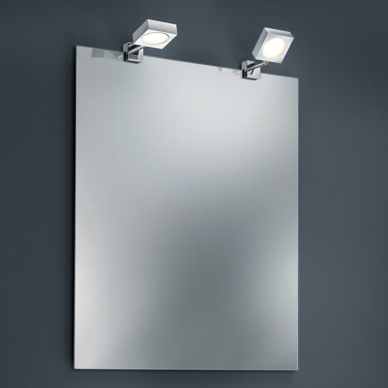 LED-peilivalaisinpari H2O 2820 60x130x20 mm IP44 2 kpl kromi