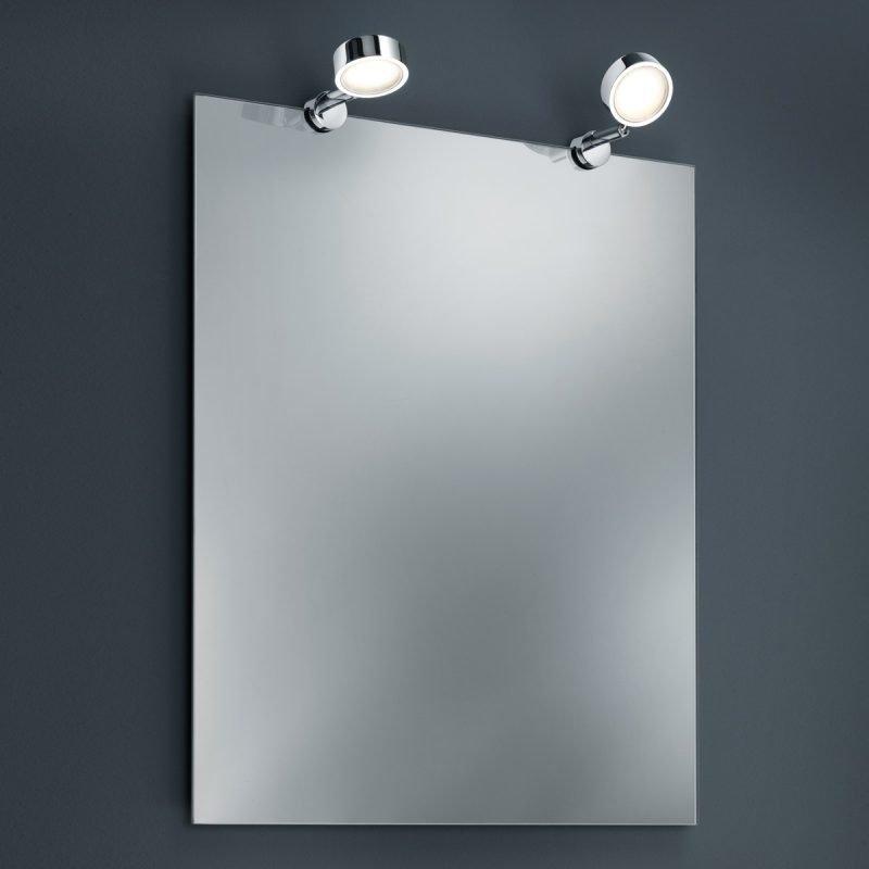 LED-peilivalaisinpari H2O 2821 60x130x20 mm IP44 2 kpl kromi