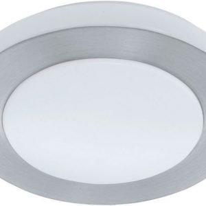 LED-plafondi Carpo Ø 300 mm valkoinen/alumiini