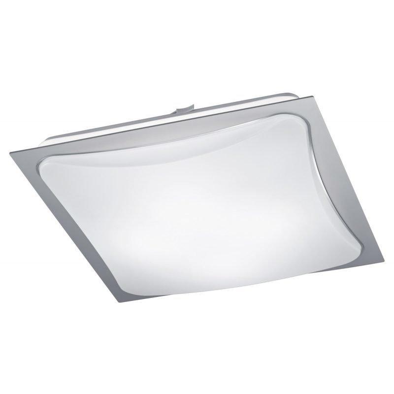 LED-plafondi Cornet 400x400x95 mm harmaa/opaali