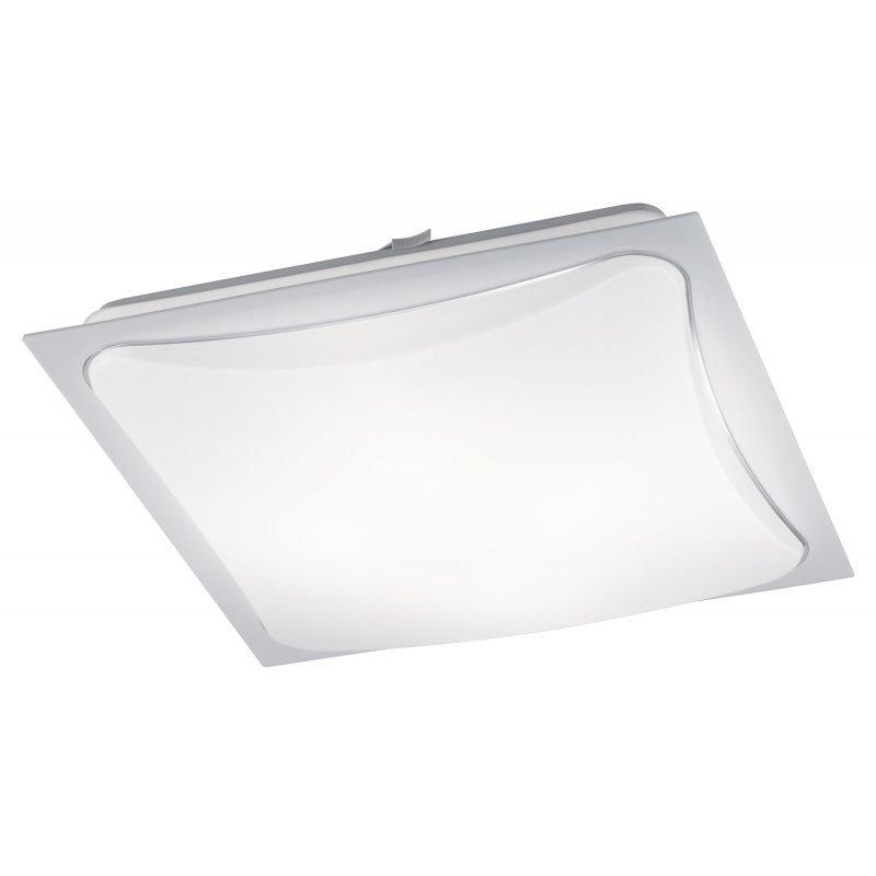 LED-plafondi Cornet 400x400x95 mm valkoinen/opaali