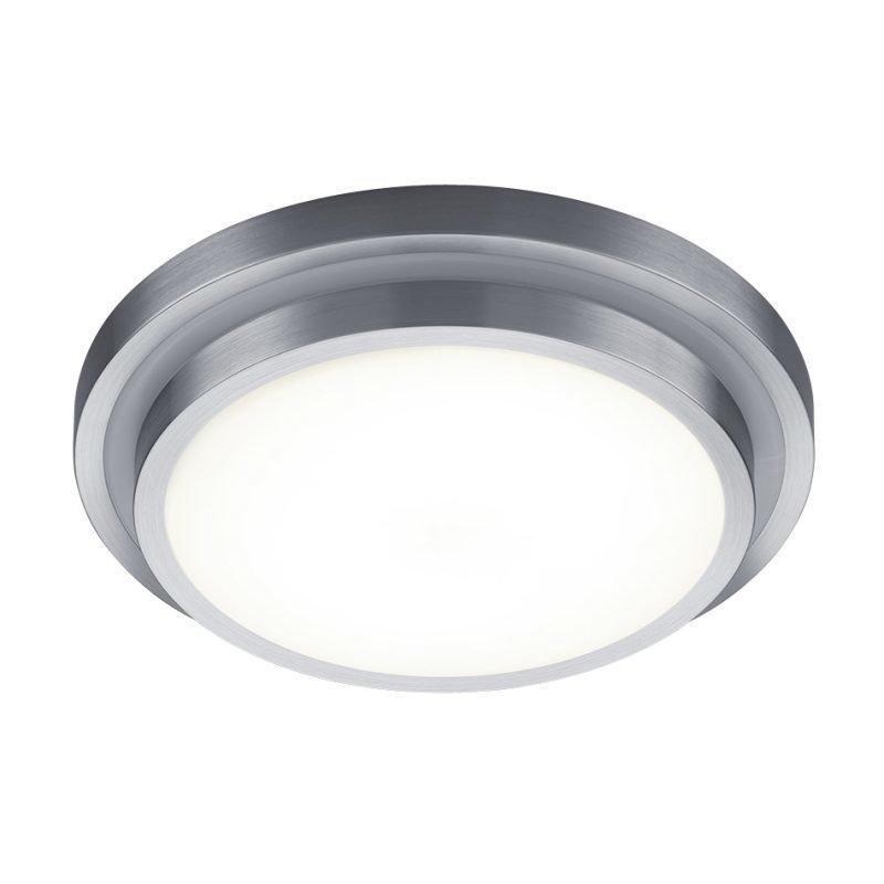 LED-plafondi Espri Ø 410x110 mm harjattu alumiini