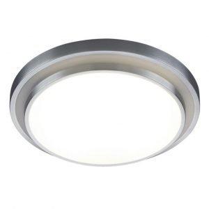 LED-plafondi Espri Ø 515x115 mm harjattu alumiini