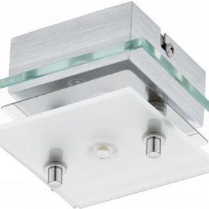 LED-plafondi Fres 2 125x125x65 mm kirkas/valkoinen/kromi