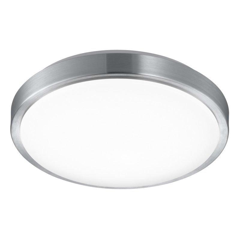 LED-plafondi Lordanos Ø 410x110 mm 3000-5500K harjattu alumiini + kaukosäädin