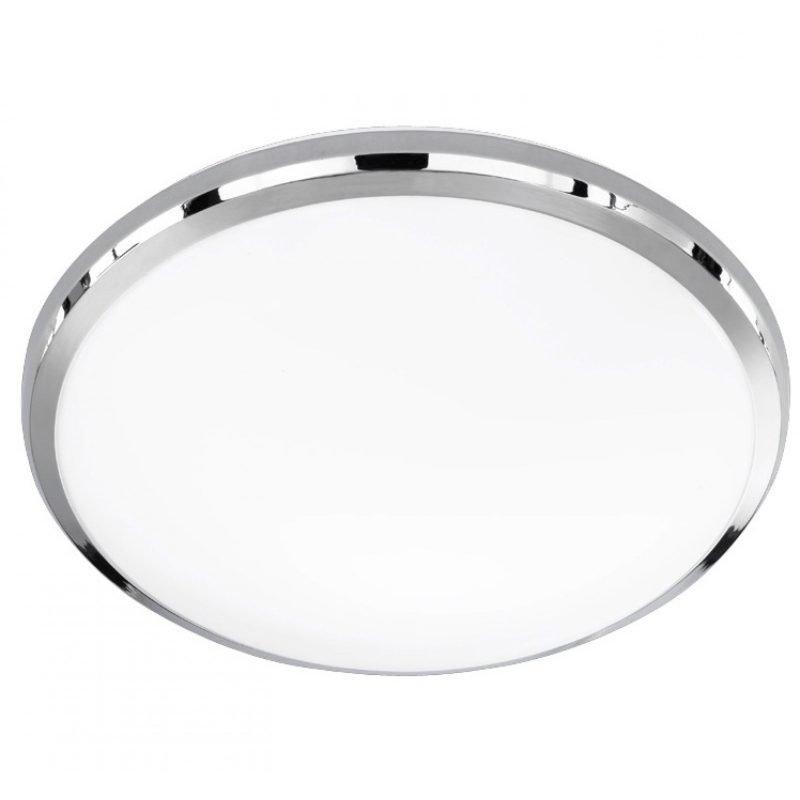 LED-plafondi Serie 6240 Ø 310x80 mm kromi/valkoinen