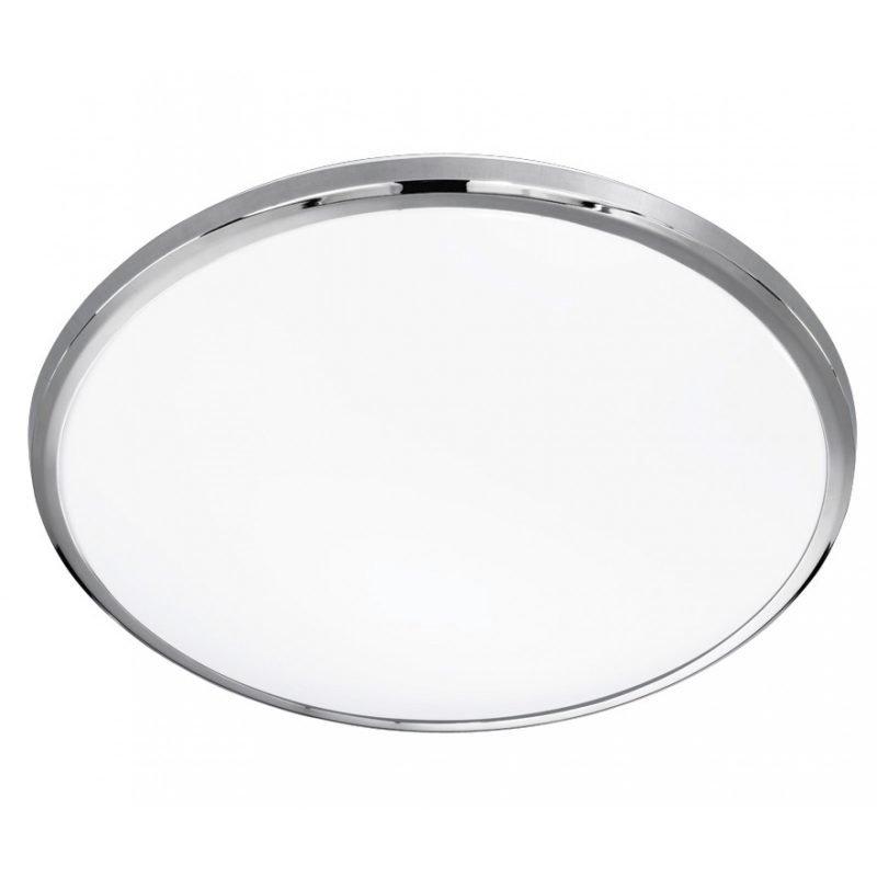 LED-plafondi Serie 6240 Ø 420x80 mm kromi/valkoinen