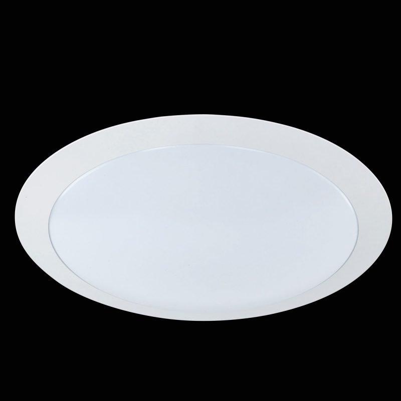 LED-plafondi Serie 6265 Ø 350x80 mm valkoinen