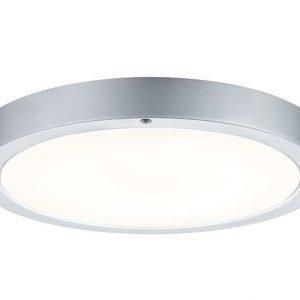LED-plafondi Smooth Ø 300x35 mm mattakromi/valkoinen