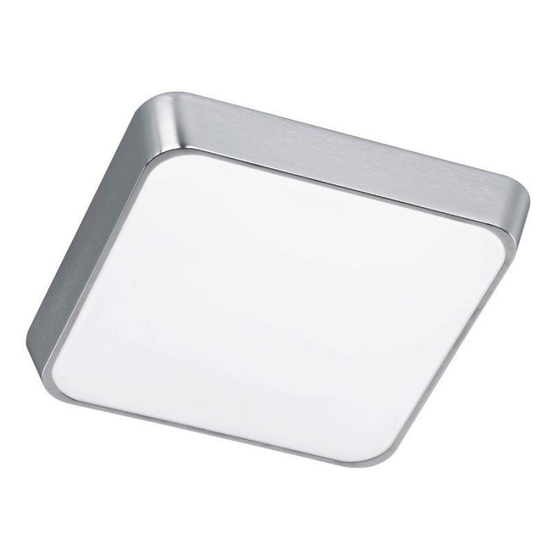 LED-plafondi Square 290x290x80 mm harjattu alumiini/valkoinen