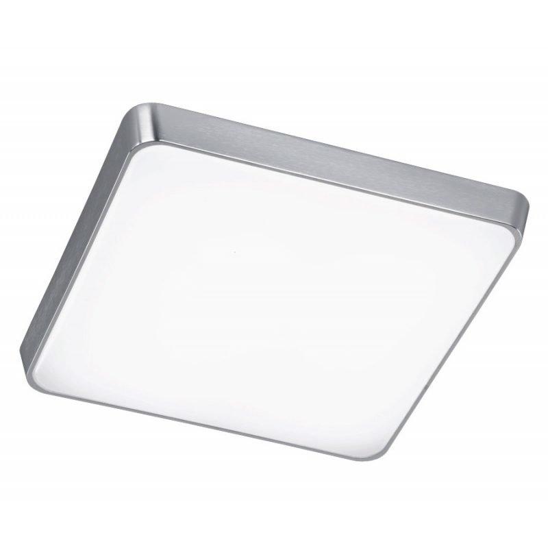 LED-plafondi Square 440x440x80 mm harjattu alumiini/valkoinen