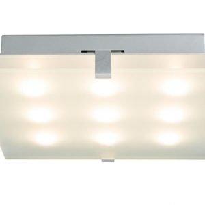 LED-plafondi Xeta 300x300x68 mm mattakromi
