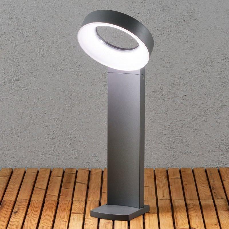 LED-pollarivalaisin Asti 7274-370 260x235x730 mm antrasiitti