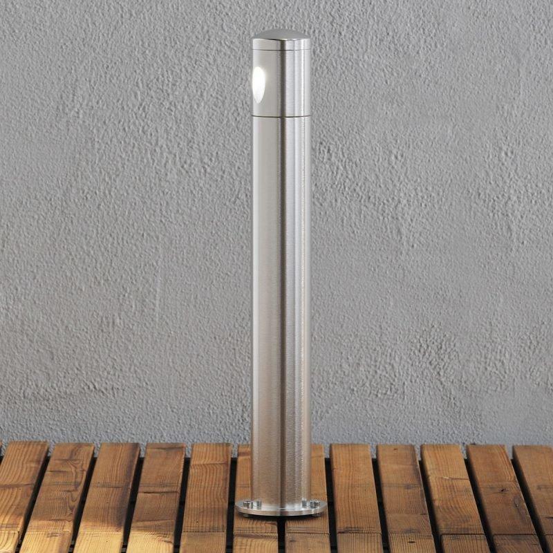LED-pollarivalaisin Monza matala 7901-310 Ø 60x500 mm alumiini