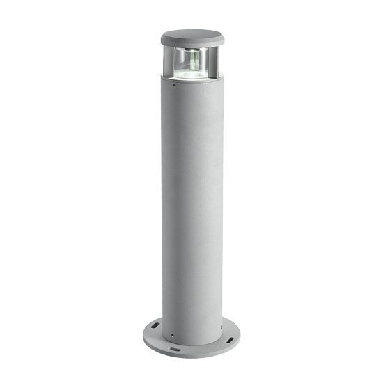 LED-pollarivalaisin Pilari Pyöreä 3W 3000K 300lm IP55 Ø 80x600 mm harmaa
