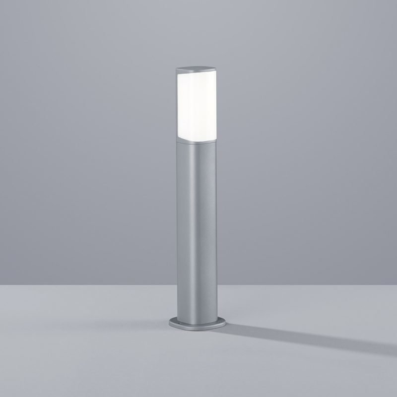 LED-pollarivalaisin Ticino 70x70x500 mm matala titaani