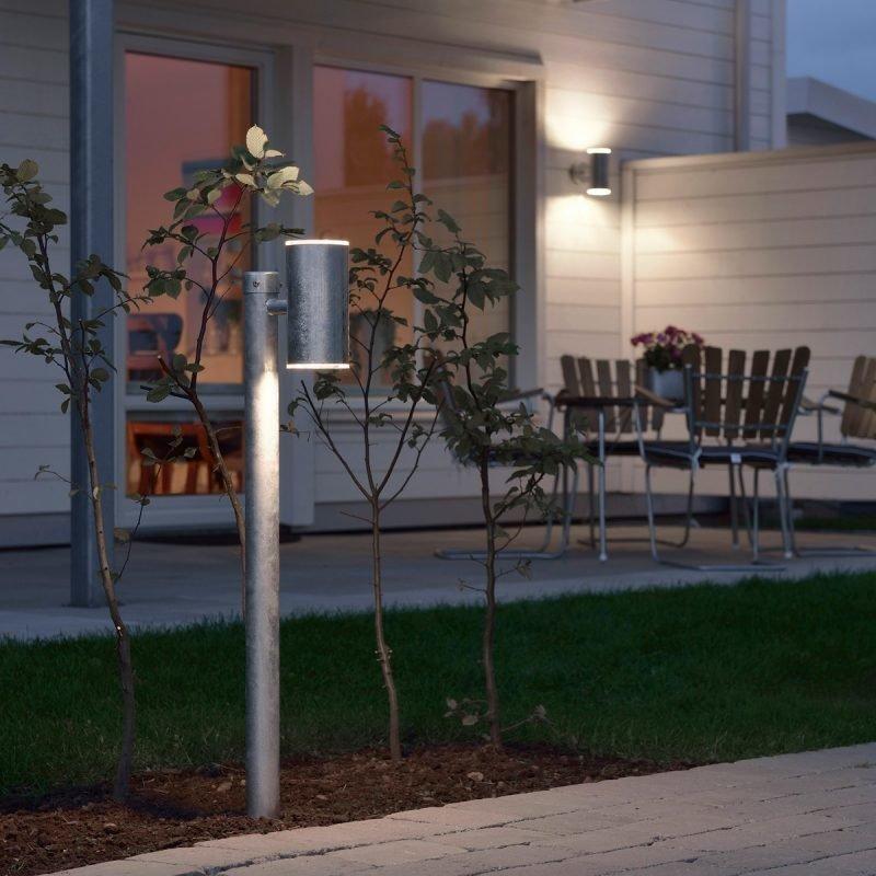 LED-pollarivalaisin Ull 591-320 100x200x955 mm sinkitty teräs